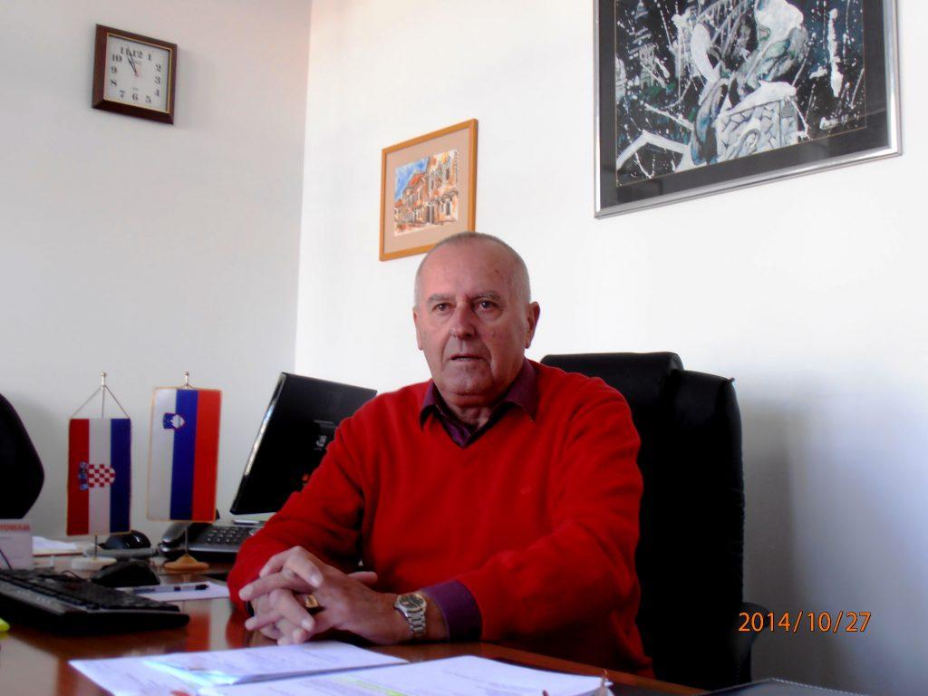 Mr. sc. Šušmelj Cveto -predsednik SKD TRIGLAV SPLIT